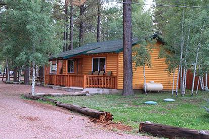 cabins pin rent log resort cabin for az lodge rentals at the greer
