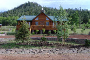 Rustic Retreat Greer Arizona