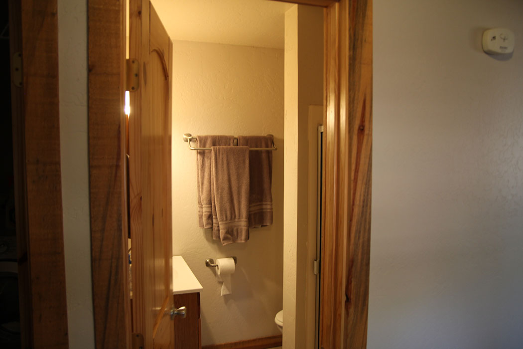 Maater bedroom bathroom with shower