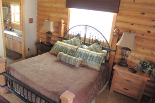Rustic Master Bedroom